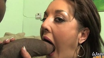Lovely mom with puffy pussy be crazy a black dick 19