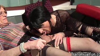 Dictatorial amateur older trannies fucking