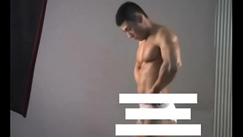 Meili Series - Muscular Especially bettor Lay out Showing His Hot Body ( Behind The Scene )