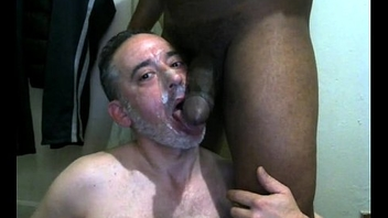 gaymanslaves.com dirty pig cant get enough of this big black cock