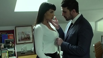 Mercedes Carrera and her dominant boss - EroticaX