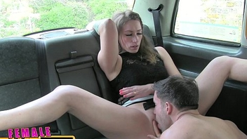 FemaleFakeTaxi Nervous farmer can'_t satisfy driver
