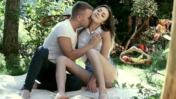 Amazing outdoor footjob and sex - 21 FootArt