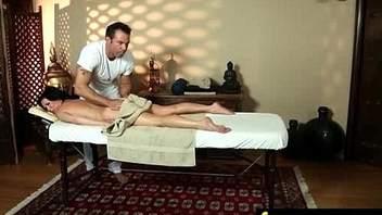Husband Cheats with Massagist in Room 19