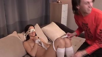 Cheating gf enjoys her boyfriends punishment