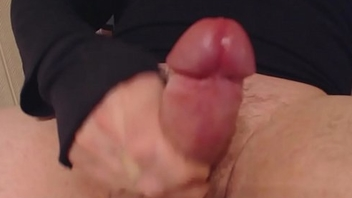 My solo 50 (Close up edge wanking and intense thick cumload)
