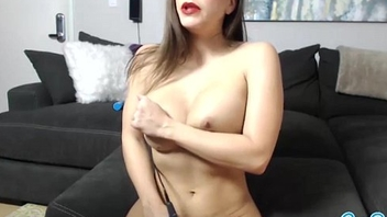 big tits latina lesbian doing pussy massage with vibrator trying to squirt for c