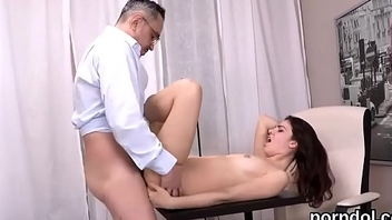 Lovable schoolgirl gets seduced and reamed by her elder mentor