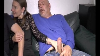 Double fisting and fucking her loose young pussy