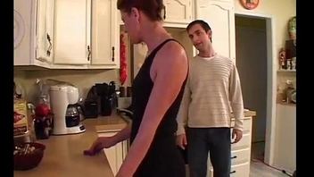 Fucking best friend'_s mom in kitchen